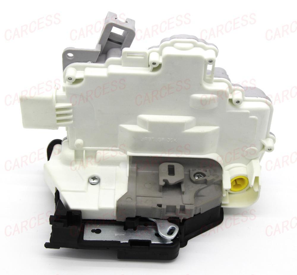 OE8J1837015A 3C1837015A FRONT LEFT CENTRAL DOOR LOCK LATCH ACTUATOR MECHANISM FIT FOR VW PASSAT B6 SKODA SUPERB A4 A5 Q5 Q7 TT(China (Mainland))