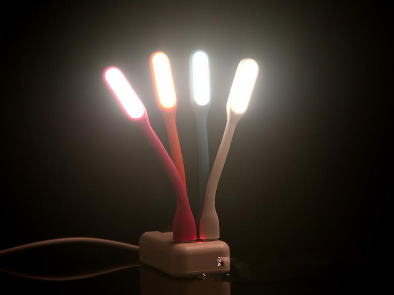 100% Original Brand Xiaomi Xiaomi Flexible USB LED Light for Power Bank Computer PC Lamp Keyboard Protect Eyesight Night-lights(China (Mainland))