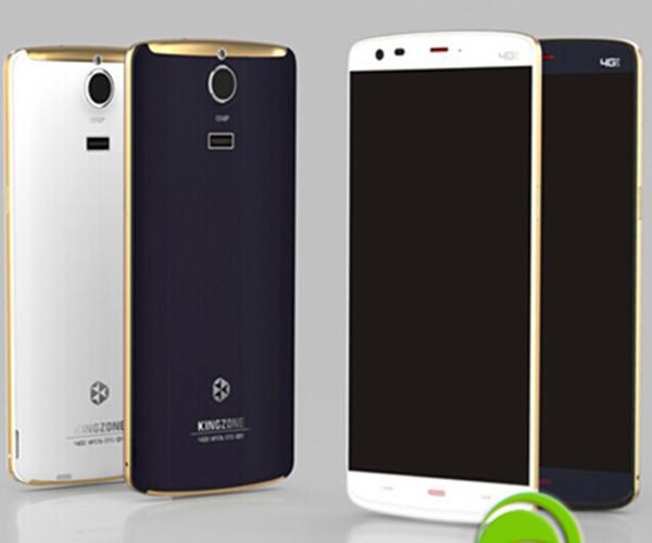 KINGZONE Z1 5.5 Inch HD MTK6752 Octa Core 4G FDD LTE Smartphone Mobile Phone Android 4.4 Celular 2GB RAM 16GB ROM NFC Free