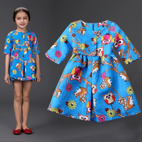 Платье для девочек New brand 2015 HYF-DS10-8