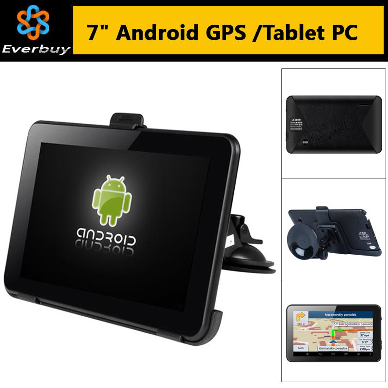 GPS-навигатор 7/hd GPS 4.4 Allwinner A23 WIFI 8GB GPS Navitel 9,5 2015 gps навигатор dunobil clio 5 0