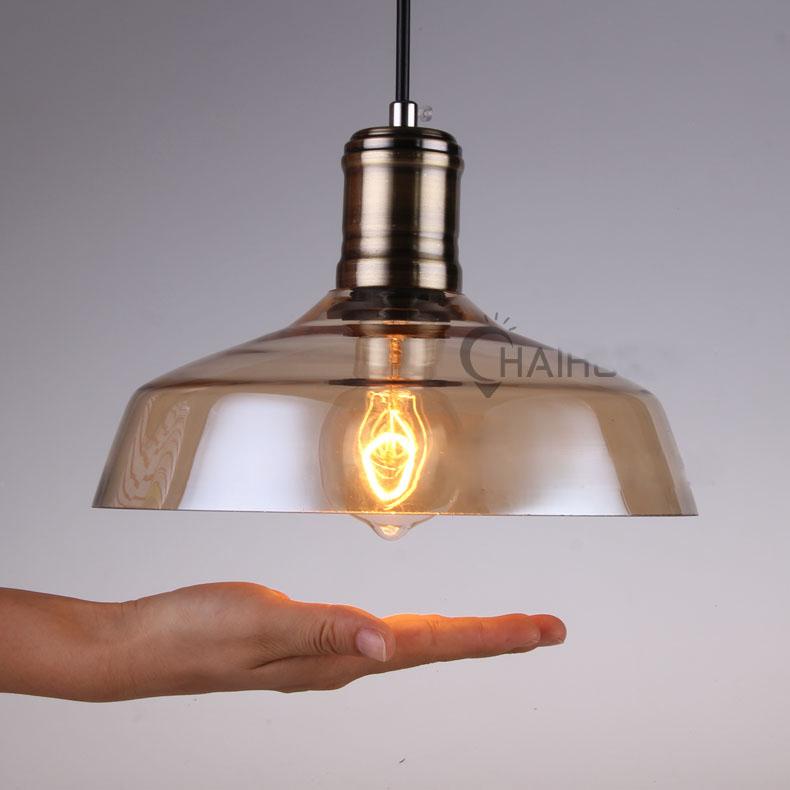 Compra industriales luz pendiente online al por mayor de - Lamparas industriales vintage ...
