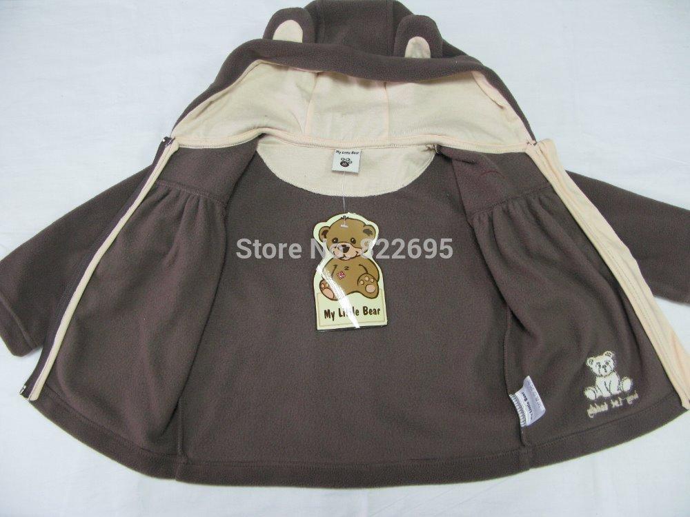 Baby Fleece Jacket With Hood Baby Girl's Fleece Jacket