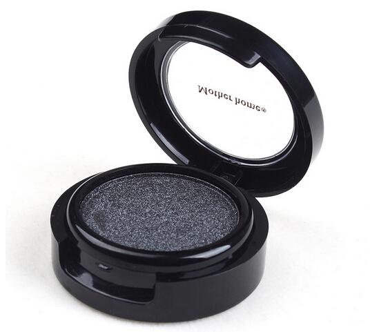 2015 Metallic Shimmer white coffee darkgrey color glitter paleta sombra Smokey Eyeshadow Powder(China (Mainland))
