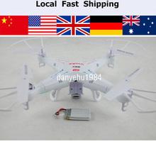 Syma x5c Entdecker 2,4 g 4-kanal 6- achs-kreisel rc quadcopter mit hd-kamera au uns uk de lager(China (Mainland))