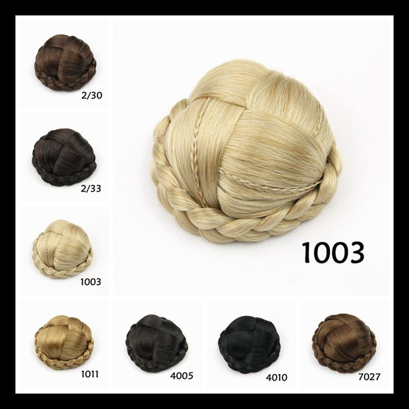 Braided Hair Bun Piece Braid Hairpiece / Hair Pieces