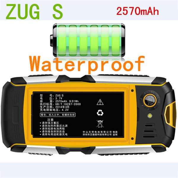 Original MANN ZUG S IP67 Waterproof Mobile Phone Dustproof Shockproof Rugged Outdoor Cell Phones Camera Bluetooth Cheap Phone Z6(China (Mainland))