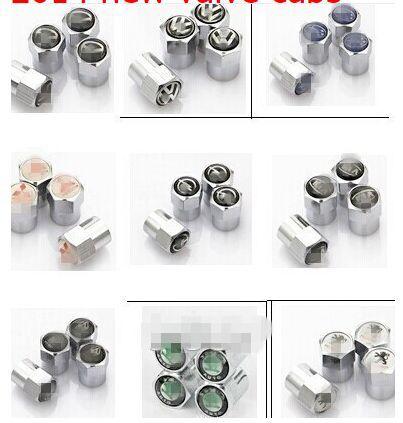 car styling Wholesale Chrome Metal Wheel Tire Valve Caps Stem Air For KIA/VW/mazda/ mitsubishi/subaru/Peugeot /opel /skoda(China (Mainland))