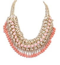 2015 New Design Colorful Vintage Jewelry Woman s Statement Chokers Necklace Necklaces Pendants Christmas Gift N029