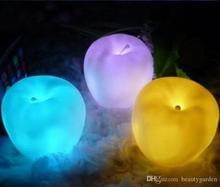 12pcs/lot Party Banquet Supplier Fruit Design Night Lamp Electronic LED Light Nightlight L304(Hong Kong)