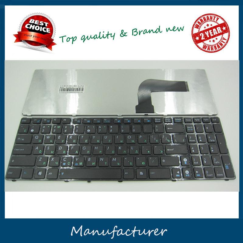 Russian Keyboard for Asus X53 X54H k53 A53 N53 N60 N61 N71 N73S N73J n73jf P52 P52F P53S X53S A52J X55V X54HR X54C RU Black(China (Mainland))