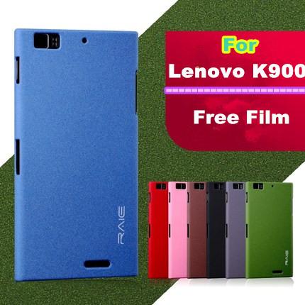 Lenovo K900 Case , Ultra Thinnest Matte Case Cover For Lenovo K900 Anti-Skid Mobile Phone Bag + Free Screen Protector+Free Ship(China (Mainland))