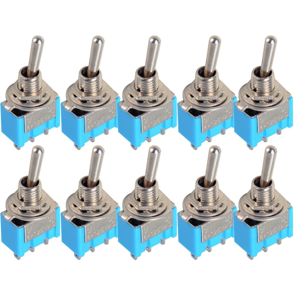 Кулисный переключатель HKYRD A5 10 /102 3/spdt 6A 125VAC VE067 p