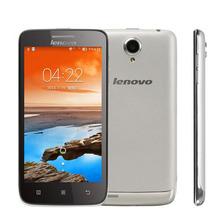 "Original lenovo s650 phone original MTK6582 Quad Core cell 4.7"" Gorilla Glass 1G RAM 8G ROM Android 4.2 GPS 3G mobile  Russian"