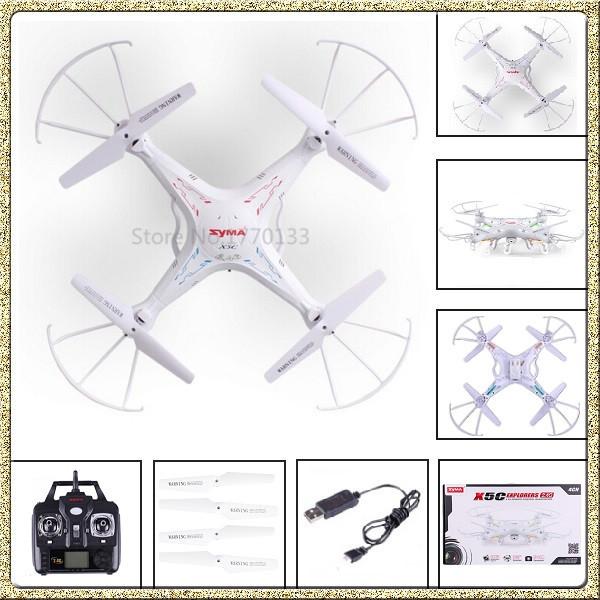 SYMA X5C Original 2.4G 4CH 6-Axis RC Helicopter Quadcopter Toys Drone with Camera Control Remoto(China (Mainland))
