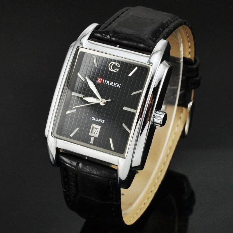 CURREN 8097 luxury brand men Stylish Analog Wrist Watch with Calendar clock men