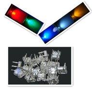 50PCS,piranha 3MM R,G,B,W,Y,LEDs