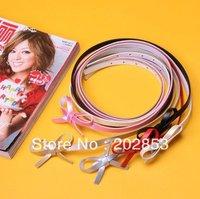 Wholesale - 10pcs/lot fashion ladies'  PU Thin belts