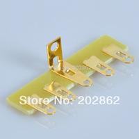 Free shipping 10pcs/Lot Point to Point Terminal Strip 5 Lug Tube Amplifier DIY
