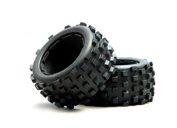 rear dirt tires fit 1/5 baja 5B 2PCS(China (Mainland))