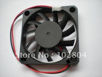 Brushless DC Cooling 11 Blade Fan 6010S 12V 60x10mm 0.1-0.3A Black 20 pcs per lot