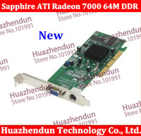 Brand New Sapphire ATI Radeon 7000 64M DDR VGA/TVO AGP Radeon7000 64M VIDEO CARD