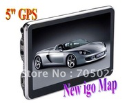 5 inch cheapest gps navigation free igo8 map