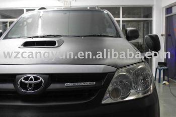 black (air free bubbles)1.52X30M/3D Carbon Fiber Vinyl Car Sticker low price\high quality