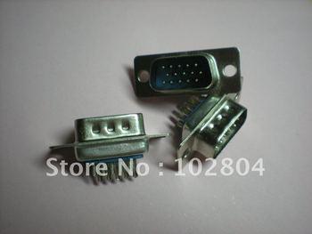 D-sub de soldadura conector macho 15 Pin 100 unids por lote