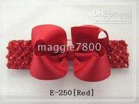 hairband hair band head band headband -satin crochet headband with hair bow 78 hair bow hairbow