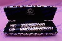 100% Genuine Love Alpha Leopard Mascara with Panther Leopard Case 12ml+3ml Black Mascara ( 24SET/LOT )Free Shipping
