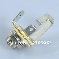 Free Shipping 4pcs/lot Neutrik 1/4 Mono Switchcraft TS Guitar Pickup Pedal amplifier Jack YS-229