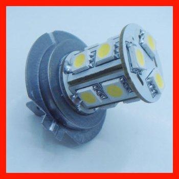 Free shipping 12VDC H7 LED fog lamp, 13leds 2W 150lumens