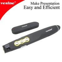 Free Shipping! Hotsales USB 2G Black Screen function usb wireless ppt presenter  1pc VP110