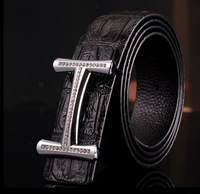 2010 new arrival men's fashion belt, 100% genuine cow leather belt, free shipping ,#168