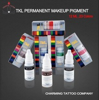5 pcs/lot TKL pigments, permanent makeup eyebrow ink free shipping