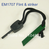 EM1707-F Hot Sale  Flint and Steel Fire Starter 20pcs Length-40mm, Dia-4.5mm