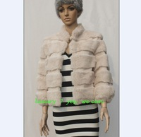 Free shipping Luxury hight quality women's fur coat fur jacket outerwear  fur  standing collar  for hot sale best price