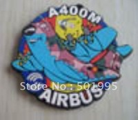 free shipping of AF118 model  for 3d embossed eco-friendly pvc fridge magnet