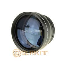 Black 52mm 2.0x 2x TELE Telephoto LENS Multi Coated(China (Mainland))