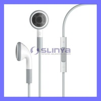 Original Blue Board Earphone Headset with Mic & Volume Control For iPhone iPod iPad