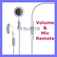 For iPhone Earphone with MIC Remote and Volume Control Headset for iPhone iPad iPod