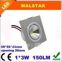 10pcs/lot 3W Square LED recessed down Light/LED Square Light