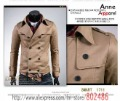 2012 new model mens's jacket fashion jacket tracksuit Men's Army Winter Trench Coats Outwear Jackets,Free shipping! JK21