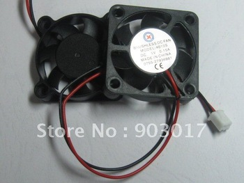 Brushless DC Cooling Fan 7 Blade 5V 4010S 40x40x10mm 2 Wire 2 pcs per lot