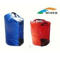 Free Shipping 30L Dry Bag Waterproof  Bag  With Clear Window for Kayak Canoe Rafting Camping
