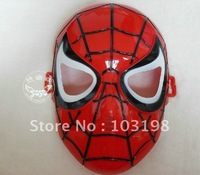 wholesale fancy party masks,Spiderman mask, masquerade party mask various colors 50pcs+free shipping