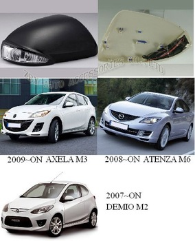 DEMIO M2'07-ON/ATENZA M6'08-ON/AXELA M3'09-ON MIRROR COVER  LED MIRROR COVER SIDE MIRROR COVER