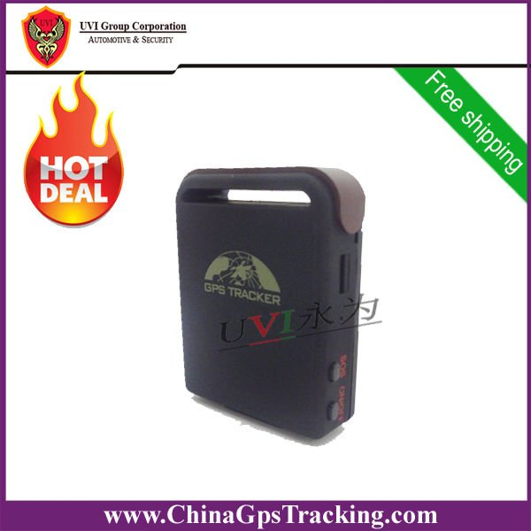 DHL Free Shipping Wholesale 2pcs/lot Free shipping mini GPS Tracking GPS-TK102(China (Mainland))