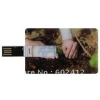 Custom logo printing  2GB credit card usb flash drive popular usb stick card model customzied logo promotion gift free shipping